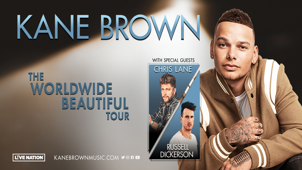 Kane Brown Tour 2020.Kane Brown Worldwide Beautiful Tour 2020 Country 101 1